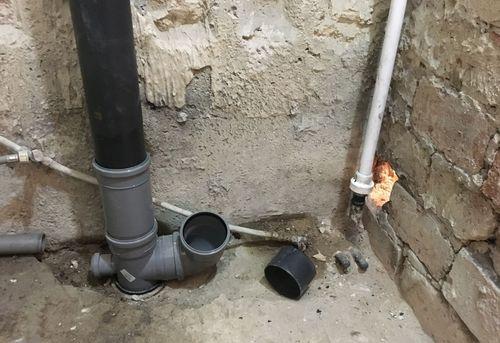 Замена труб канализации в частном доме в Ногинске